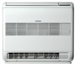 Toshiba floor console heatpump