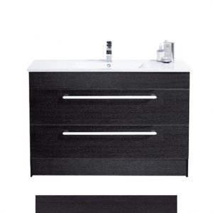 Raymor Boston Vanity Floor Standing Charred Oak